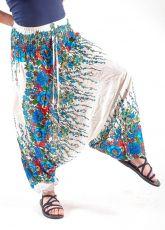 Kalhoty turecké harémové ORIGIN viskóza Thajsko (167)