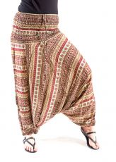 Kalhoty turecké harémové ORIGIN viskóza Thajsko (170)