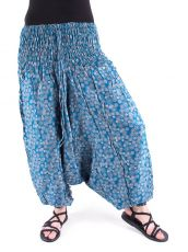 Kalhoty turecké harémové ORIGIN (BLEACH PRINT)  (186)