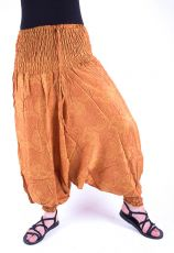 Kalhoty turecké harémové ORIGIN (BLEACH PRINT)  (190)
