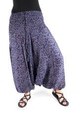 Kalhoty turecké harémové ORIGIN (BLEACH PRINT)  (185)