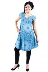 Letní šaty - tunika z pružného materiálu TT0024-05-015