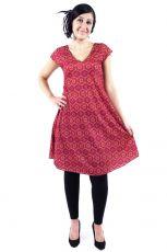 Letní šaty - tunika z pružného materiálu TT0024 05 016