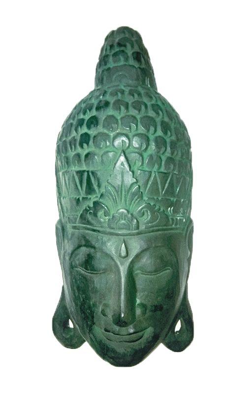 Maska Buddha - nástěnná bytová dekorace, dřevořezba Indonésie ID1702504