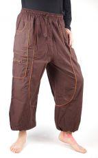 Pánské bavlněné kalhoty SAHEL z Nepálu (004)