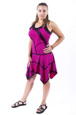 Šaty LAYLA - 100% bavla z Nepálu  NT0048-91-002
