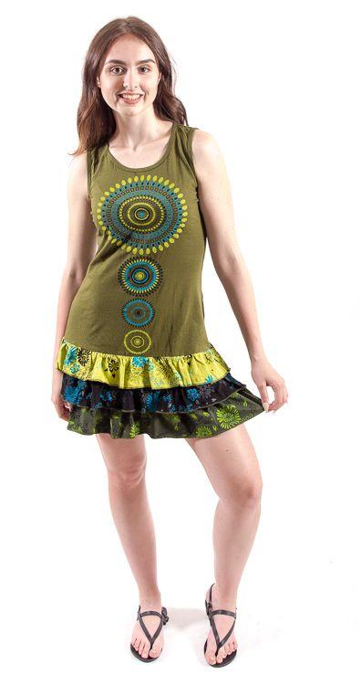 Šaty MALORCA - 100% bavla z Nepálu NT0048 77 003 KENAVI