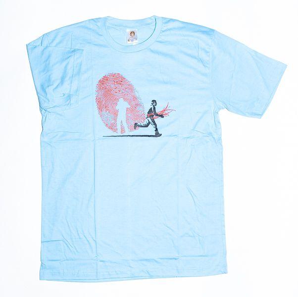 Tričko atraktivním potiskem velikost L Rocky Collection TT0025 134