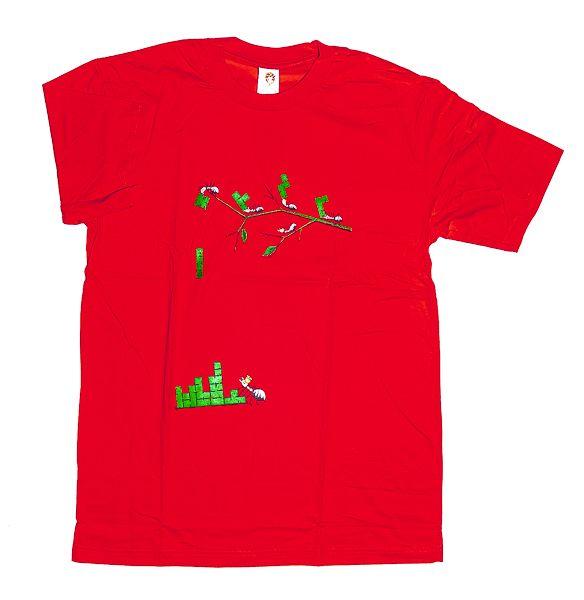Tričko atraktivním potiskem velikost L Rocky Collection TT0025 140