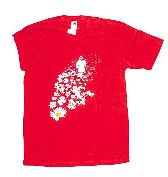 Tričko atraktivním potiskem velikost L Rocky Collection TT0025 141