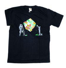 Tričko atraktivním potiskem velikost L Rocky Collection (143