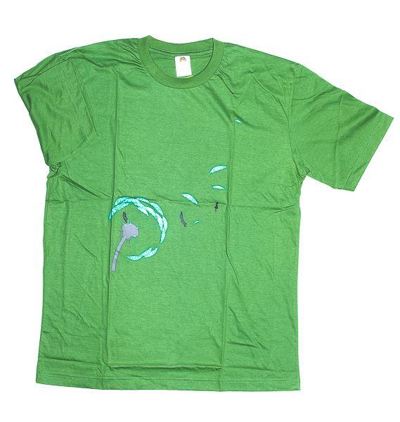 Tričko atraktivním potiskem velikost L Rocky Collection TT0025 145