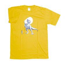 Tričko atraktivním potiskem velikost L Rocky Collection (127)