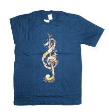 Tričko atraktivním potiskem velikost L Rocky Collection (128)