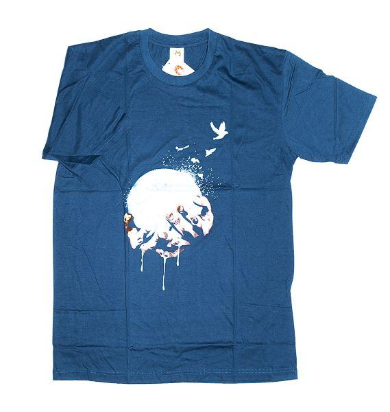 Tričko atraktivním potiskem velikost L Rocky Collection TT0025 129