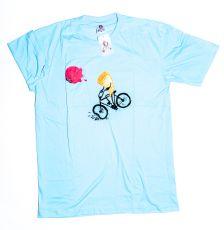 Tričko atraktivním potiskem velikost L Rocky Collection (132)
