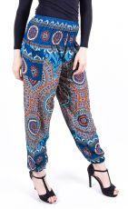 Turecké kalhoty sultánky FLOW viskóza Thajsko (032)