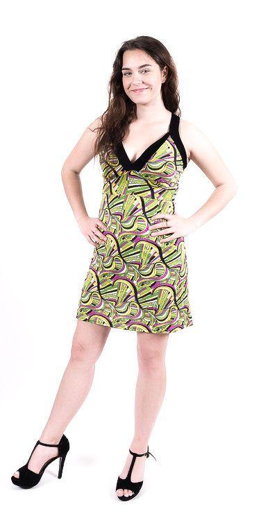 Dámské letní šaty - tunika - z pružného materiálu TT0024 0 195