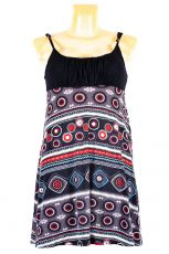 Dámské letní šaty z pružného materiálu  TT0024-0-199