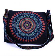 Taška SUMBA, barevný potisk, kusová výroba z Nepálu  NT0087-53-002