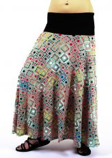 Dámská dlouhá sukně LOLA LONG z letního materiálu  TT0100-01-109