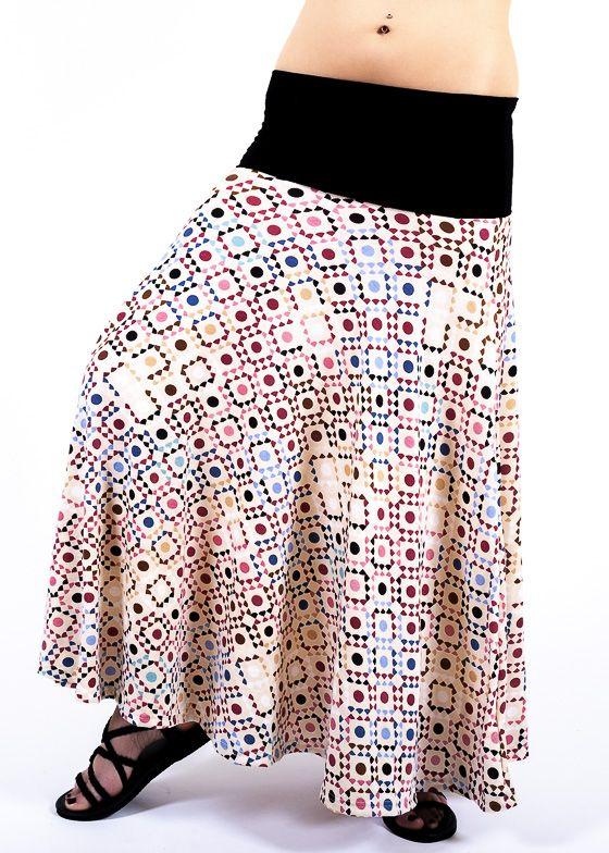 Dámská dlouhá sukně LOLA LONG z letního materiálu TT0100 01 110