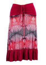 Dámská letní sukně / šaty s potiskem  TT0024-00-049