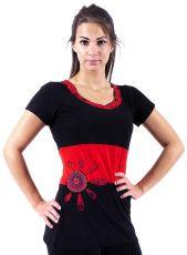 Damská trička s krátkým a dlouhým rukávem,  kusová výroba