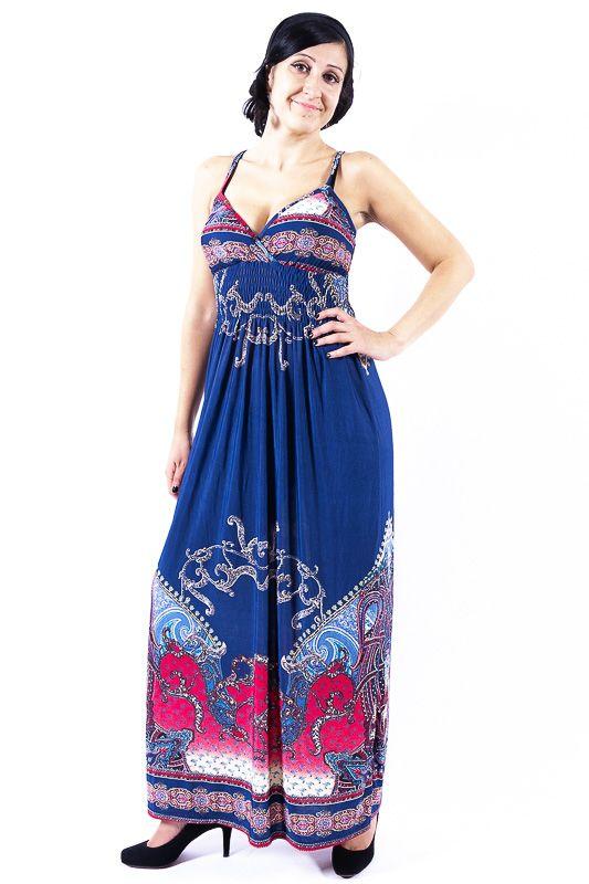 Dámské letní šaty COMET LONG TT0023 05 045
