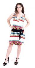 Dámské letní šaty z pružného materiálu  TT0024-0-187
