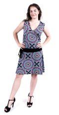 Dámské letní šaty z pružného materiálu  TT0024-0-188