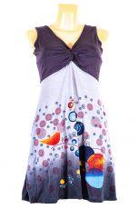 Dámské letní šaty z pružného materiálu  TT0024-0-194
