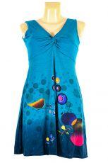 Dámské letní šaty z pružného materiálu  TT0024-0-197