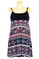 Dámské letní šaty z pružného materiálu  TT0024-0-198