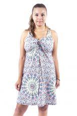 Dámské letní šaty z pružného materiálu  TT0024-0-180