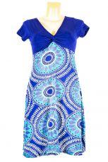 Dámské letní šaty z pružného materiálu  TT0024-0-203