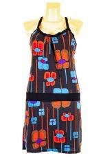 Dámské letní šaty z pružného materiálu  TT0024-0-204