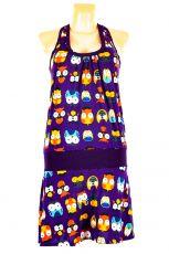 Dámské letní šaty z pružného materiálu  TT0024-0-205