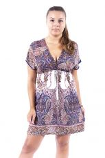 Dámské šaty - tunika - LUNA  TT0023-00-046
