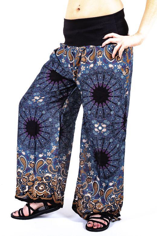 Kalhoty dámské DAPHNE viskóza Thajsko TT0043 06 002