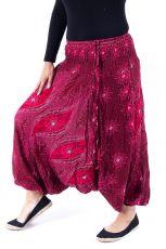 Kalhoty turecké harémové ORIGIN viskóza Thajsko TT0043-199