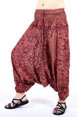Kalhoty turecké harémové ORIGIN viskóza Thajsko TT0043-211