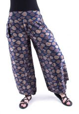 Kalhoty turecké harémové ORIGIN (BLEACH PRINT)  TT0043-204