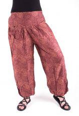 Kalhoty turecké harémové HMONG (BLEACH PRINT)  TT0043-207