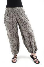 Kalhoty turecké harémové HMONG (BLEACH PRINT)  TT0043-200