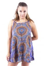 Ležérní letní mini šaty SPAGETI  TT0111-01-005