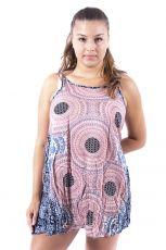 Ležérní letní mini šaty SPAGETI  TT0111-01-007