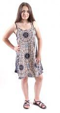 Ležérní letní mini šaty SPAGETI  TT0111-01-019
