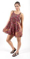 Ležérní letní mini šaty SPAGETI  TT0111-01-013