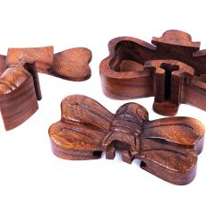 Magická krabička - malá šperkovnice VÁŽKA - ruční výroba Indonésie ID1601309